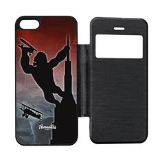 King Kong Black Flip Case for iPhone 55s by Gadget Glamour  FREE Crystal Clear Screen Protector ** Find out more about the great product at the image link.