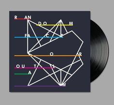 ✖✖✖ Design by Richard Robinson ✖✖✖. Love this geometric album cover. PD