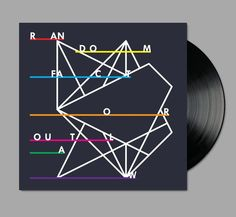✖✖✖ Design by Richard Robinson ✖✖✖. Love this geometric album cover. PD