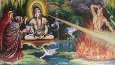 God Shiva and Kama Lord Shiva Hd Images, Happy Married Life, Happy Navratri, Hindu Mantras, Nataraja, Om Namah Shivaya, Shiva Shakti, Rare Pictures, Deities