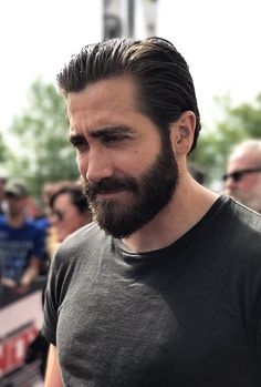 Jake Gyllenhaal at the Indianapolis Motor Speedway on May 28, 2017 in Indiana