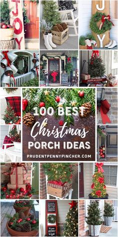 20 festive front porch decorating ideas christmas porch decoration ideas front porch christmas decorating ideas christmas porch decoration ideas front porch christmas decorating Best Christmas Porch Decoration Ideas For. Country Christmas, Winter Christmas, All Things Christmas, Christmas Home, Christmas Wreaths, Christmas Signs, Christmas Porch Ideas, Farmhouse Christmas Decor, Winter Porch