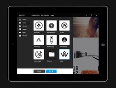 Adobe Touch Apps  Art Direction, Interaction Design, User Interface Design