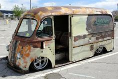 Rat Rod Step van. I would love to have one of these!