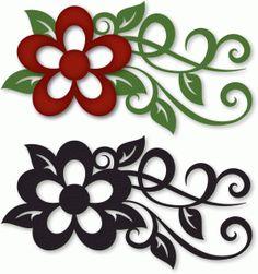 ramita con flor