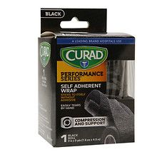 Curad Performance SeriesSelf Adherent Wrap 3 inch x 5 yds (7.6 cm x 4.5 m) Black at Walgreens. Get free shipping at $35 and view promotions…