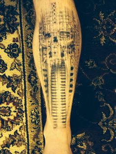 H.R. Giger piece on my shin. By Rich Kimmel at RC's in Folsom PA - Imgur