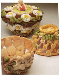 Look at all the salt dough crafts!