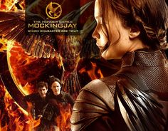 Which Hunger Games Character Are You?  Mockingjay Edition.