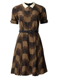 #Orla Kiely: I have an antique lace collar, I really need to make a cute dress like this to wear it with.