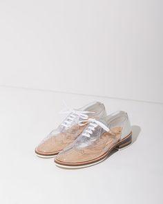 Zucca Skeleton Shoes   La Garçonne