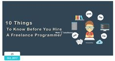 Hire a freelance programmer  To avoid the same mistakes I see entrepreneur making over and over again, there are a few things you need to know before you hire a freelance programmer from freelancer.com, upwork, eLance, Scriptlance, or RentACoder website programmer.