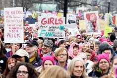 I felt like I had been dropped into the '70s | Why I Went to the Women's March in Downtown London | Her Campus