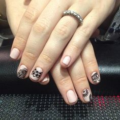 NailCall: Negative Space Nails and Graphic Looks | Beauty High