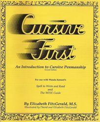 Cursive First-$35