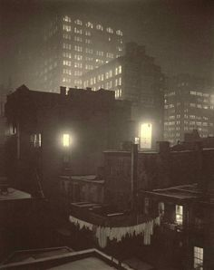 Alfred Stieglitz, From the Back Window at 291, 1915