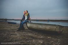 Engagement Shoot at Burnham Overy Staithe, Norfolk. Boats. www.jameskphoto.co.uk