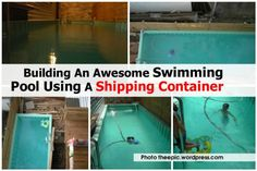 Shipping container pools   EES Shipping   Logistics is our world   Perth, Western Australia