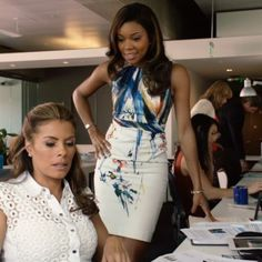 Outfit worn by Mary Jane Paul in Being Mary Jane. Shop the Screen with Spylight!