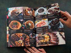 Cafe Menu Design, Food Menu Design, Restaurant Menu Design, Restaurant Recipes, Restaurant Identity, Sushi Menu, Burger Menu, Menue Design, Japanese Menu