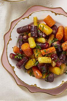 Butter-Glazed Rainbow Carrots goodhousemag