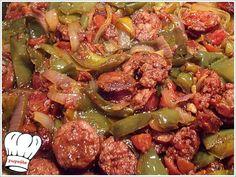 ΣΠΕΤΖΟΦΑΙ ΥΠΕΡΟΧΟ!!! | Νόστιμες Συνταγές της Γωγώς Greek Recipes, Sprouts, Recipies, Food Porn, Gluten, Meat, Chicken, Vegetables, Cooking