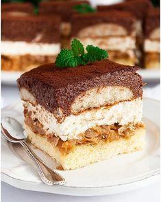 Faworki z mascarpone - I Love Bake Polish Recipes, Polish Food, Food Cakes, Tiramisu, Cake Recipes, Deserts, Cupcakes, Tasty, Sweets