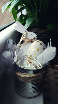 Easter, decoration,  home Made,  beton