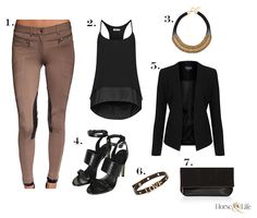 Fashion Forward Breeches by GhoDho   Horse & Life #equestrianfashion