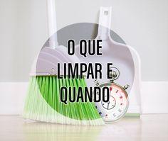 Muitos leitores me perguntam como organizar a rotina de limpeza em casa. Cada casa tem suas própria necessidades, assim como cada família tem as suas, e cada modelo deve ser personalizado. No entan…