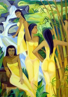 Senaka Senanayake (Sri Lankan, b.1951) Four female : Lot 625