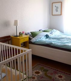 Be brave - add a boldly painted piece to an otherwise ordinary room   Ine's bedroom in Norway   live from IKEA FAMILY