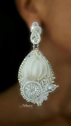 Mhoara Jewels  #earrings #bridal #wedding #white
