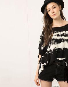 Poncho Bershka tie dye - Blazers & Kimonos - Bershka Portugal