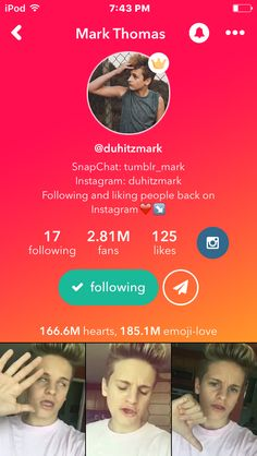 Hot Youtubers, Mark Thomas, Emoji Love, Musicals, Bae, Instagram, Musical Theatre