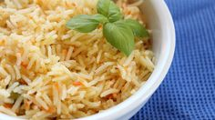 In Yemen there is no lunch complete without rice. Its good to change it up and have a lot of options. This carrot rice is a nice alternative to white rice with a bit more flavor but it is lighter than some other rice dishes which have a meat flavor. If you want more of an orangey color and carrot flavor, you can add an additional carrot.
