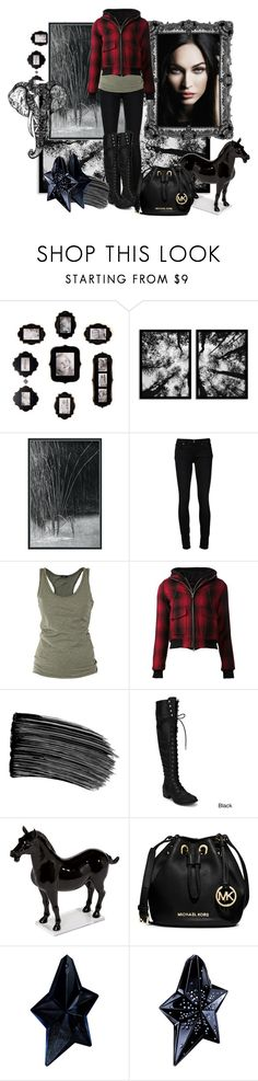 """Chills"" by leelee107 ❤ liked on Polyvore featuring Fetco, Universal Lighting and Decor, Paige Denim, Giorgio Armani, Lola, R13, NYX, Ethan Allen, MICHAEL Michael Kors and Thierry Mugler"