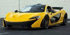 Volcano Yellow McLaren P1 – Chassis No.204