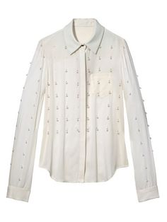 Fab at Every Age - The New Cocktail Hour - 50s: Winter whites. Veronica Beard blouse.