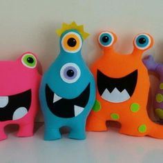 Stuffed Animals, Dinosaur Stuffed Animal, Monsters Inc, Animal Pillows, Sewing For Kids, Decoration, Biscuit, Kid Stuff, Toys