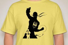 Iron Fist Silhouette Shirt by DJsDecals on Etsy Iron Fist, Cool Artwork, Colorful Shirts, Decals, Silhouette, Mens Tops, T Shirt, Etsy, Tags