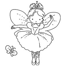 10 Beautiful Ballet Coloring Pages For Your Little Girl Fairy