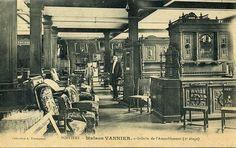 """POITIERS - MAISON VANNIER - Magasin """" Galerie de Ameublement """" ( 2ème Etage ). Date photo inconnue."""