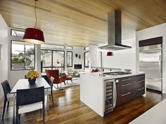 Modern Kitchen And Dining Room Design modern kitchen and dining space combination – get the best of both