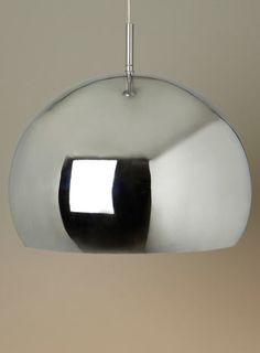Chrome Reno Pendant - ceiling lights  - Home, Lighting & Furniture