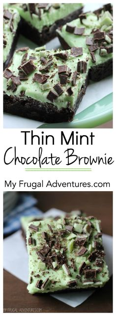 Thin Mint Chocolate Brownie Recipe