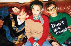 EXO-CBX《Hey Mama!》團體照