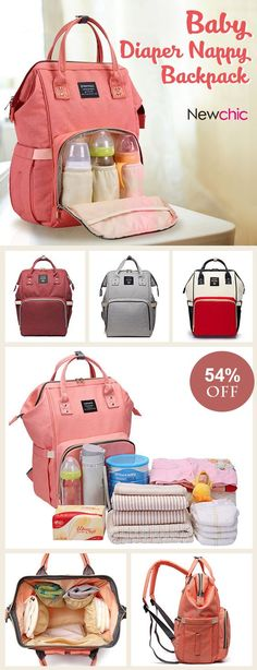 Baby Diaper Nappy Backpack Large Capacity Waterproof Nappy Changing Bag Baby Care Mother Organizer.