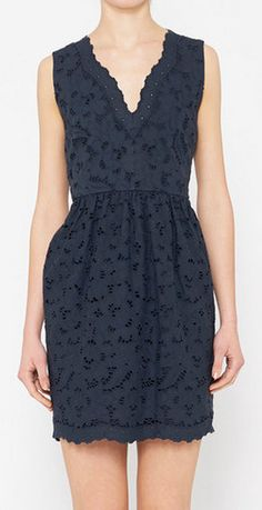 Stella McCartney Navy Dress