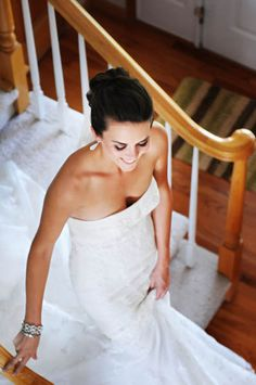 Here comes the bride Highland Meadows Country Club in Windsor, CO  Wedding photography
